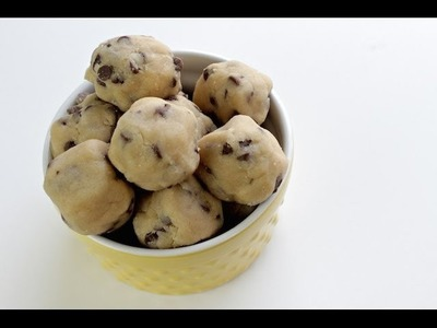 How To Make Cookie Dough Bites | No Bake Recipe