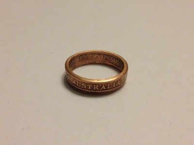 How To Make Double Sided Coin Rings