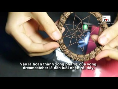 How to make dreamcatcher