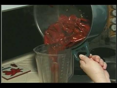 How to Make New Mexico Red Chile Sauce from Dried Peppers