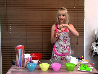 How To Make Play Dough - Non Toxic, No Cooking