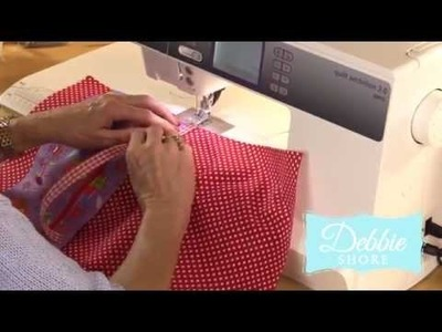 I Pad case with pockets by Debbie Shore
