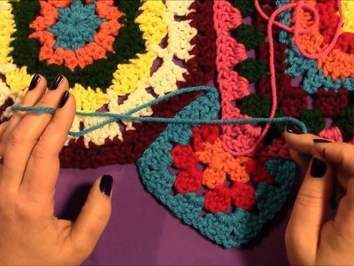 In Love With Color Throw: Joining Motifs