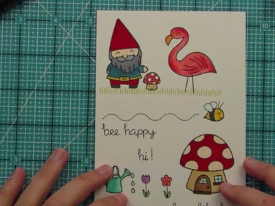 Intro to Gnome Sweet Gnome { Lawn Fawn }