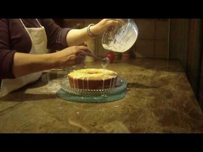 Key Lime Pound Cake  by DIANE LOVE TO BAKE