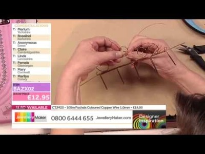 Learn How Make Wirework Jewellery [Tutorial]: Jewellery Maker DI 21.04.14