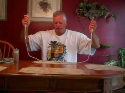 Magic Rope Trick Knot without letting go of the rope.
