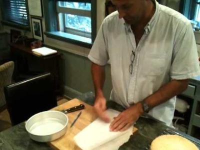 Making a Parchment Paper Circle