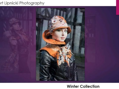 Nadin Smo Design-Wool felted scarves & Clothing
