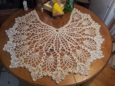 Pineapple Shawl Tutorial Part 5 (Edging)