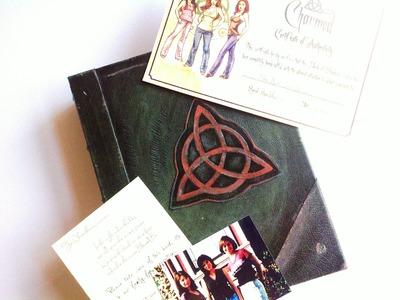 Prescott Manor: Charmed | Book Of Shadows Prop Replica Unboxing