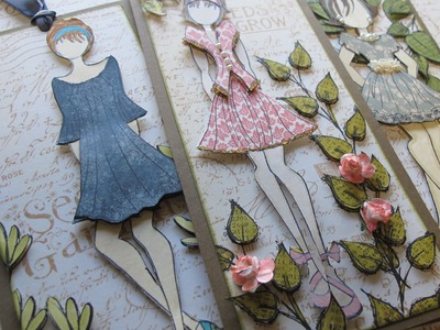 Prima Doll Graphic 45 Tags with Helen - Alice in Paperland