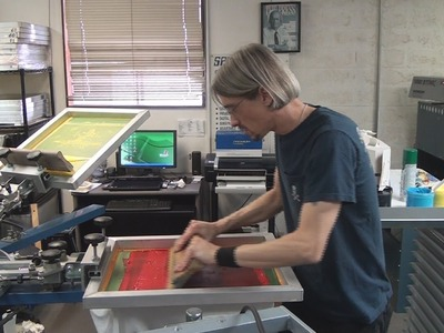 Screen Printing Classes, Training & Education At RANAR by Catspit