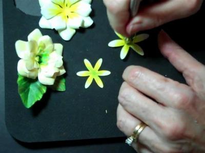 Sculpting Paper Flowers: Gardenia