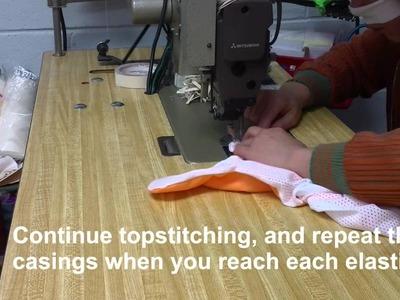 Sew a Swim Diaper in under 5 minutes