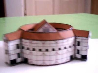 Shakespeare's Globe Theatre - paper model