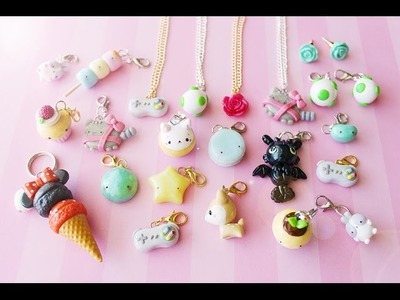 Shop Update #2 (Polymer Clay Charms)