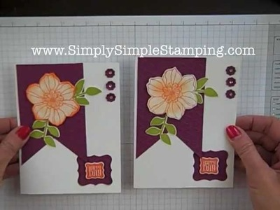 Simply Simple FLASH CARDS - Secret Garden Happy Day by Connie Stewart