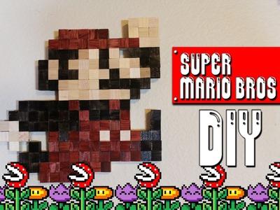 Super Mario Wall Art - DIY Geeky Goodies