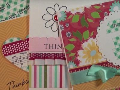 4 techniques using paper or washi tape * techniques avec le ruban adhésif en papier
