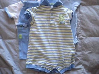 AKISSYBABY CARTER'S BABY BOYS CLOTHES 3-6 MONTH LOT EBAY