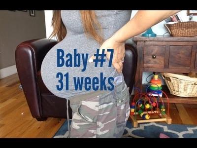 Baby #7: 31 Weeks