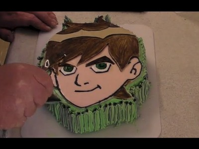 Ben 10 Cake - How To