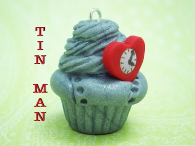 Clay Made Easy: Tin Man Cupcake Tutorial