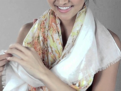Cost Plus World Market -- Ways to Tie a Scarf: Urban Cowgirl