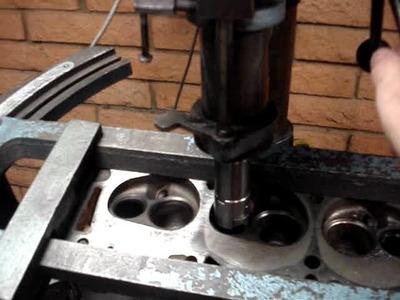 Cylinder head rebuilding