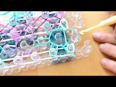 Double Starburst Zigzag Bracelet Tutorial