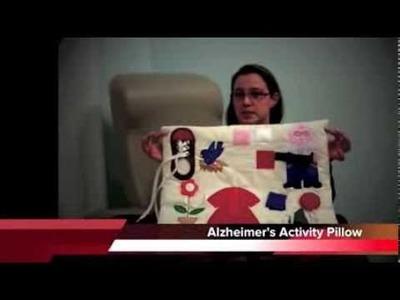 EasierLiving: Denise's Demos Alzheimer's Activity Pillow