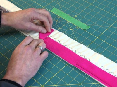 Easy way to Join the Binding on a Quilt