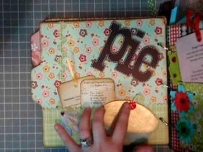 Family Recipe Chipboard Album