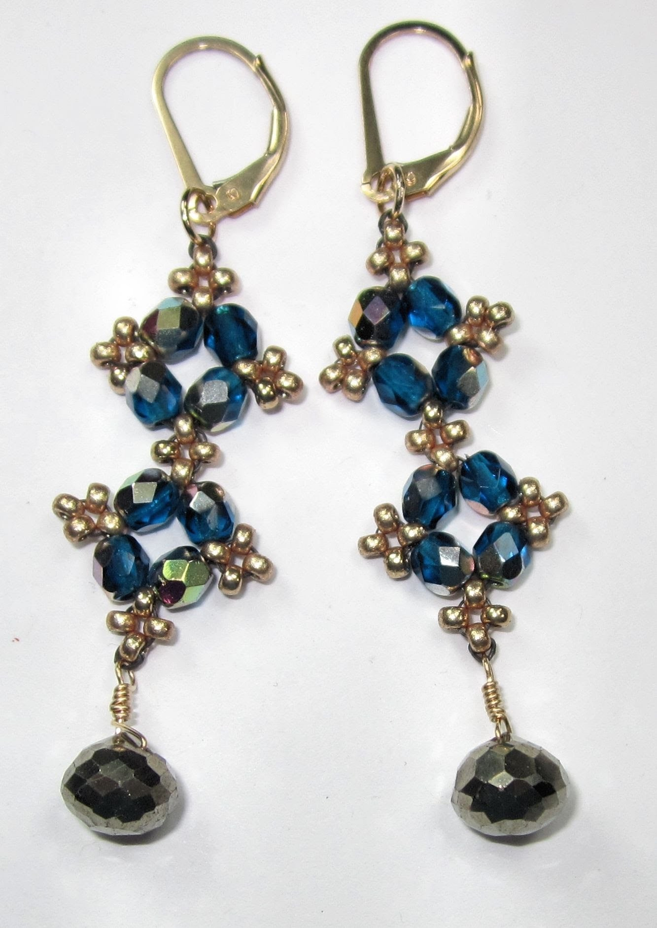 FREE Project: Easy-Peasy Earrings