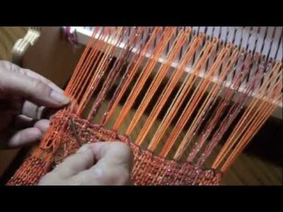 Hemstitching on Rigid Heddle Loom with PattyAnne