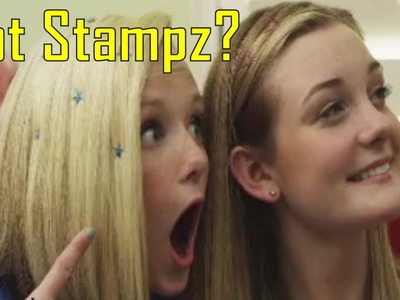 Hot Stampz As Seen On TV Commercial Buy Hot Stampz As Seen On TV Glitter Hair Stamps For Girls
