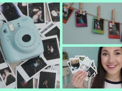 How I Take My Polaroids | Fujifilm Instax Mini 8