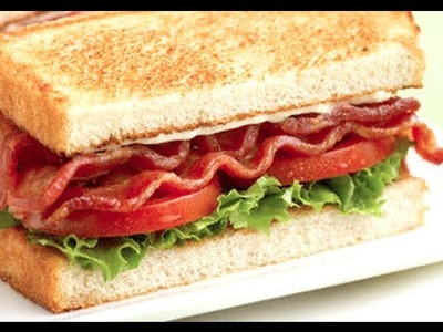 HOW TO MAKE A BLT - BACON LETTUCE TOMATO