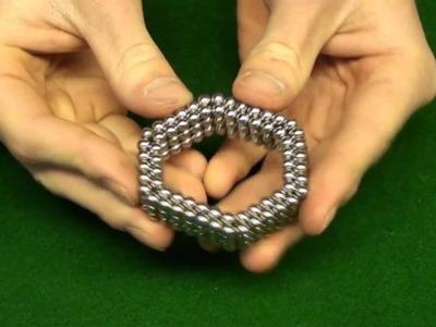How To Make a Buckyballs Flexible Hexagon Tutorial. HD!!