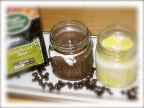 How to Make A Candle with Soy Wax-Homemade Mason Jar Candles-Candle Making At Home