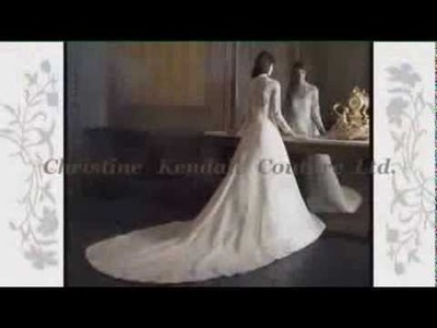 How to make a couture lace wedding dress :: Easy and Tutorial Simple