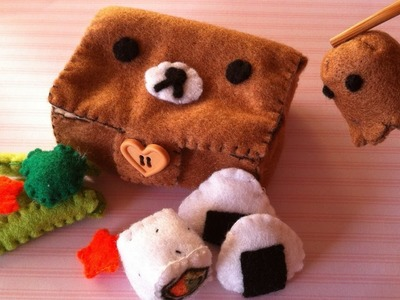 How to Make a Kawaii Rilakkuma Bento Box (Part 2)
