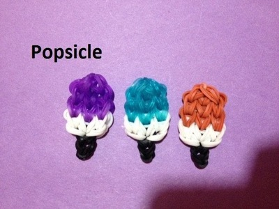 How to Make a Popsicle Charm on the Rainbow Loom - Original Design
