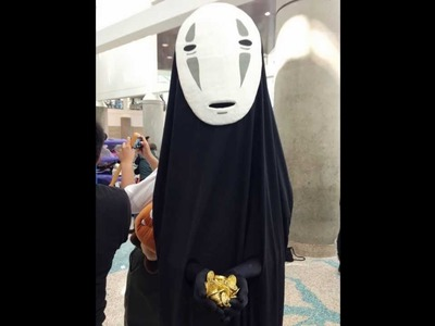 How to make No Face Mask from Spirited Away