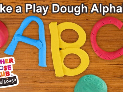 How to Make Play Dough Alphabet Letters | Show Me How Parent Video
