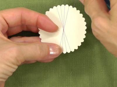 How to Make Spirelli Card Embellishments