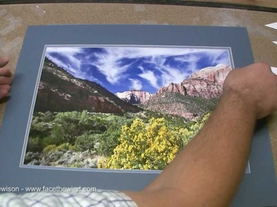 How to Make Your Own Double Mat for Framing Photos