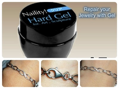 How to Repair Jewelry with UV Gel! Easy Fix!