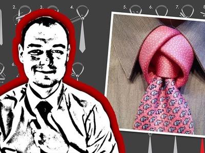 How to Tie a Tulip Necktie Knot